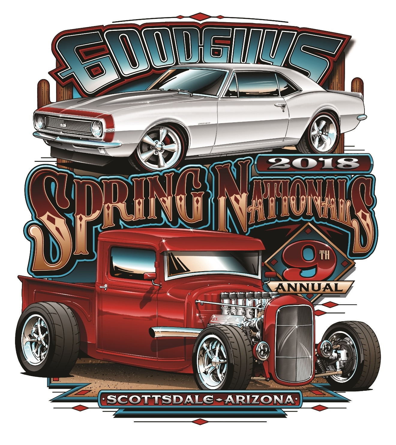 Goodguys Th Spring Nationals American Legend Wheels - When is the good guys car show in scottsdale