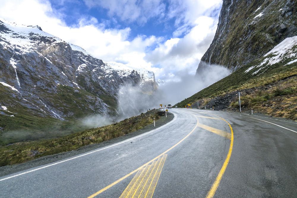 The Milford Road, New Zealand